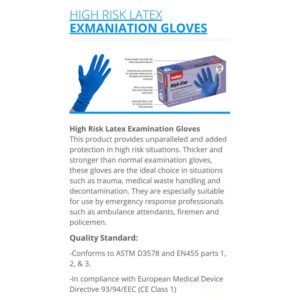 Gloves Nitrile 100's