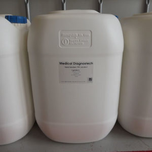 Certificated4: MEDICAL DIAGNOSTEC  – LIQUID – 25L