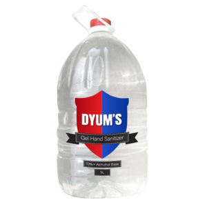 Certificated3: Dyums  – Liquid Spray :  5L