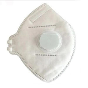 KN95 FOLDING-TYPE PROTECTIVE MASK WITH VALVE